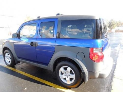 Photo Image Gallery & Touchup Paint: Honda Element in Fiji Blue Pearl  (B529P)  YEARS: 2004-2005