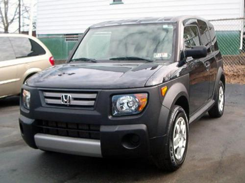 Photo Image Gallery & Touchup Paint: Honda Element in Nighthawk Black Pearl  (B92P)  YEARS: 2007-2008