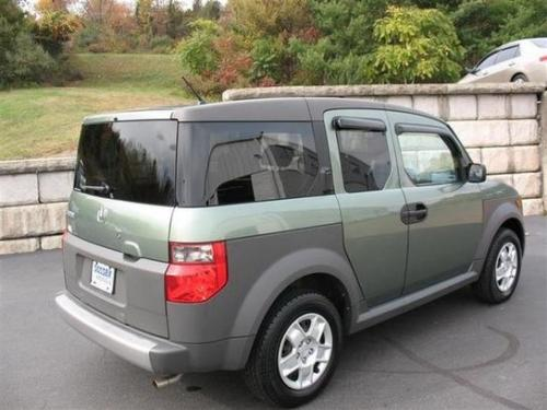 Photo Image Gallery & Touchup Paint: Honda Element in Galapagos Green Metallic  (G511M)  YEARS: 2003-2005