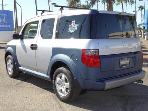 Photo Image Gallery & Touchup Paint: Honda Element in Satin Silver Metallic  (NH623M)  YEARS: 2003-2005