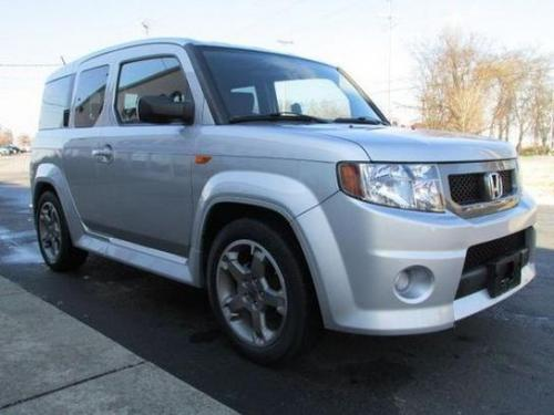 Photo Image Gallery & Touchup Paint: Honda Element in Alabaster Silver Metallic  (NH700M)  YEARS: 2007-2010