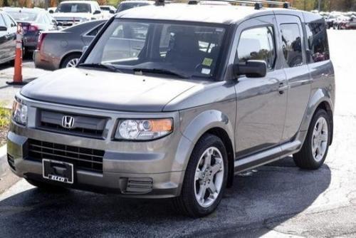 Photo Image Gallery & Touchup Paint: Honda Element in Galaxy Gray Metallic  (NH701M)  YEARS: 2007-2008