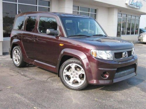 Photo Image Gallery & Touchup Paint: Honda Element in Midnight Red Pearl  (R538P)  YEARS: 2009-2009