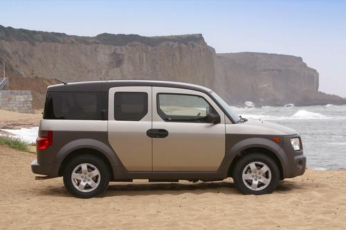 Photo Image Gallery & Touchup Paint: Honda Element in Shoreline Mist Metallic  (YR528M)  YEARS: 2003-2004