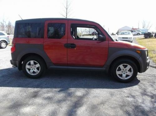 Photo Image Gallery & Touchup Paint: Honda Element in Sunset Orange Pearl  (YR539P)  YEARS: 2003-2005