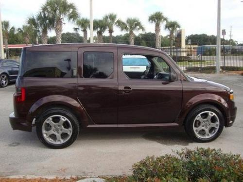 Photo Image Gallery & Touchup Paint: Honda Element in Root Beer Metallic  (YR569M)  YEARS: 2007-2008
