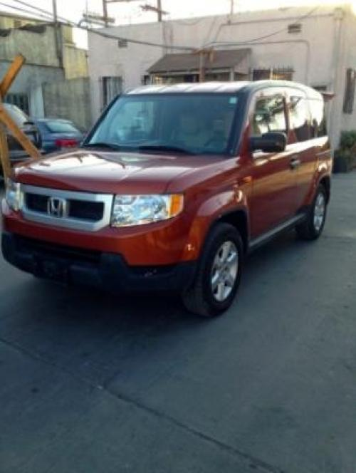 Photo Image Gallery & Touchup Paint: Honda Element in Citrus Fire Metallic  (YR579M)  YEARS: 2009-2011