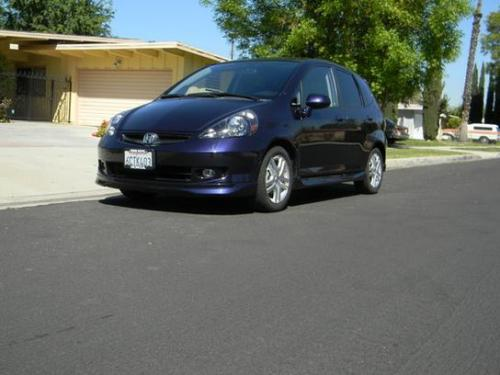 Photo Image Gallery & Touchup Paint: Honda Fit in Blackberry Pearl   (PB83P)  YEARS: 2008-2008