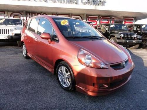 Photo Image Gallery & Touchup Paint: Honda Fit in Blaze Orange Metallic  (YR552M)  YEARS: 2007-2008