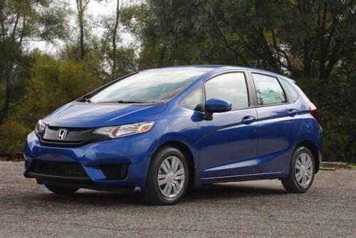 Photo Image Gallery & Touchup Paint: Honda Fit in Aegean Blue Metallic  (B593M)  YEARS: 2015-2019