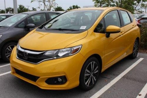 Photo Image Gallery & Touchup Paint: Honda Fit in Helios Yellow Pearl  (Y70P)  YEARS: 2018-2019