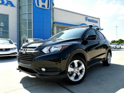 Photo Image Gallery & Touchup Paint: Honda Hrv in Crystal Black Pearl  (NH731P)  YEARS: 2016-2019