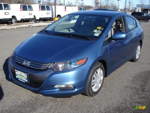 Photo Image Gallery & Touchup Paint: Honda Insight in Mediterranean Blue Pearl  (B572P)  YEARS: 2011-2014