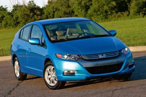 Photo Image Gallery: Honda Insight in Clear Sky Blue Metallic (BG53M)  YEARS: -