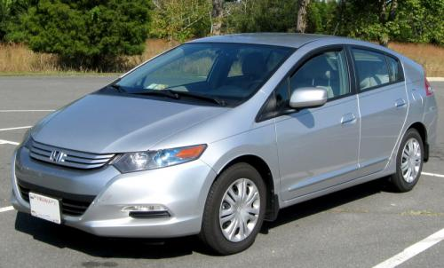 Photo Image Gallery & Touchup Paint: Honda Insight in Alabaster Silver Metallic  (NH700M)  YEARS: 2010-2014