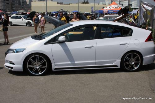 Photo Image Gallery & Touchup Paint: Honda Insight in Spectrum White Pearl  (NH756P)  YEARS: 2010-2010