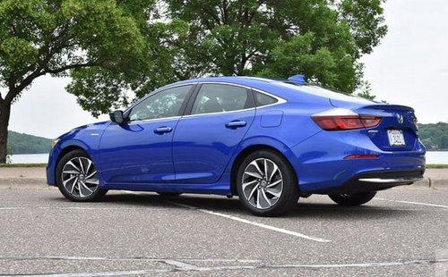 Photo Image Gallery & Touchup Paint: Honda Insight in Aegean Blue Metallic  (B593M)  YEARS: 2019-2019
