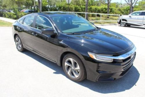 Photo Image Gallery & Touchup Paint: Honda Insight in Crystal Black Pearl  (NH731P)  YEARS: 2019-2019