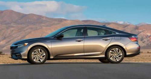 Photo Image Gallery & Touchup Paint: Honda Insight in Modern Steel Metallic  (NH797M)  YEARS: 2019-2019