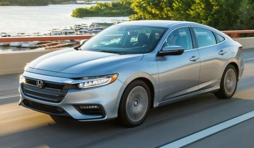 Photo Image Gallery & Touchup Paint: Honda Insight in Lunar Silver Metallic  (NH830M)  YEARS: 2019-2019