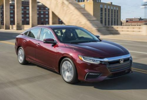 Photo Image Gallery & Touchup Paint: Honda Insight in Crimson Pearl   (R543P)  YEARS: 2019-2019