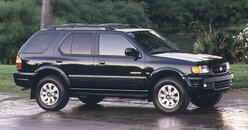 Photo Image Gallery & Touchup Paint: Honda Passport in Ebony Black   (001)  YEARS: 1998-2002
