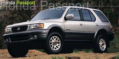 Photo Image Gallery: Honda Passport in Bright Silver On Iron (772)  YEARS: -