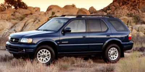 Photo Image Gallery & Touchup Paint: Honda Passport in Canal Blue Mica  (B035)  YEARS: 2000-2002