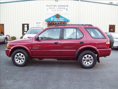 Photo Image Gallery & Touchup Paint: Honda Passport in Claret Red Mica  (R409)  YEARS: 1998-1998