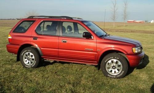 Photo Image Gallery & Touchup Paint: Honda Passport in Palazzo Red Mica  (R902)  YEARS: 1999-2001