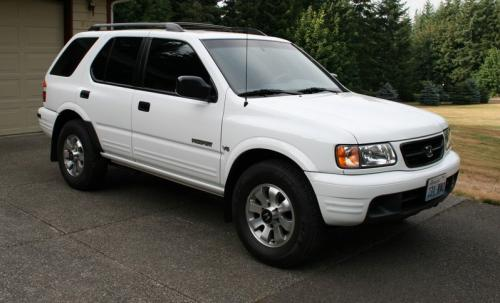 Photo Image Gallery & Touchup Paint: Honda Passport in Alpine White   (W011)  YEARS: 2000-2002
