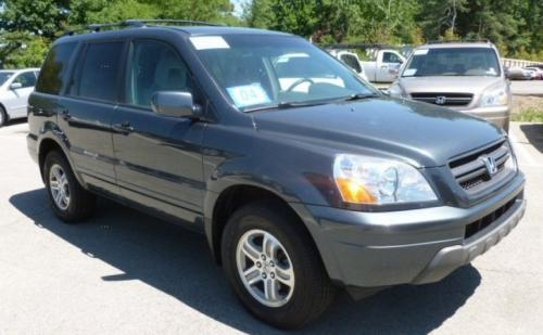 Photo Image Gallery & Touchup Paint: Honda Pilot in Sage Brush Pearl  (NH662P)  YEARS: 2003-2006