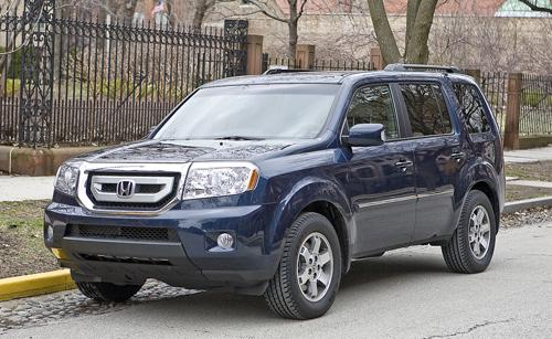 Photo Image Gallery & Touchup Paint: Honda Pilot in Bali Blue Pearl  (B552P)  YEARS: 2009-2012
