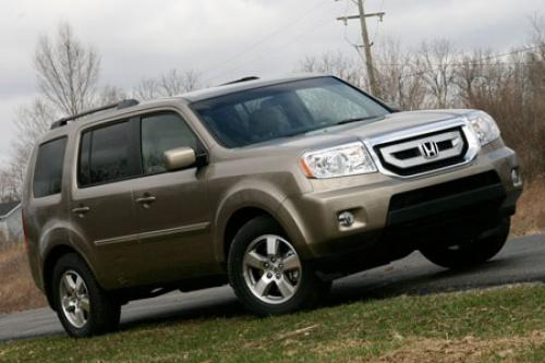Photo Image Gallery & Touchup Paint: Honda Pilot in Mocha Metallic   (YR573M)  YEARS: 2009-2011
