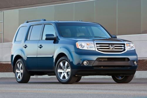 Photo Image Gallery & Touchup Paint: Honda Pilot in Obsidian Blue Pearl  (B588P)  YEARS: 2013-2015