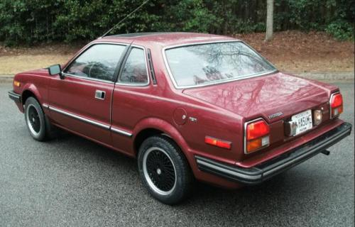 Photo Image Gallery & Touchup Paint: Honda Prelude in Paisley Red Metallic  (R43M)  YEARS: 1982-1982