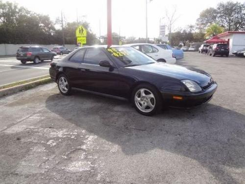Photo Image Gallery & Touchup Paint: Honda Prelude in Flamenco Black Pearl  (NH592P)  YEARS: 1997-1998
