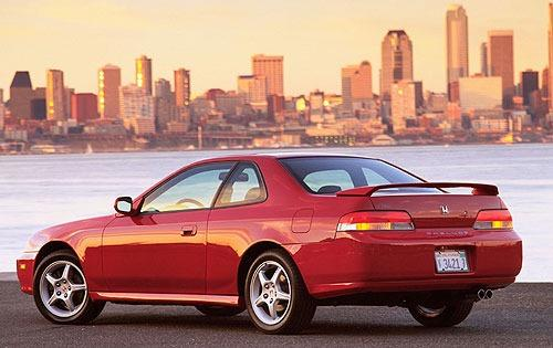 Photo Image Gallery & Touchup Paint: Honda Prelude in San Marino Red  (R94)  YEARS: 1997-1998