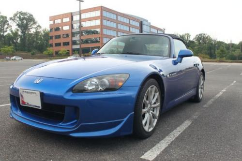 Photo Image Gallery & Touchup Paint: Honda S2000 in Laguna Blue Pearl  (B545P)  YEARS: 2006-2009