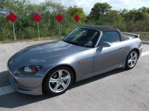 Photo Image Gallery & Touchup Paint: Honda S2000 in Chicane Silver Metallic  (NH745M)  YEARS: 2008-2009