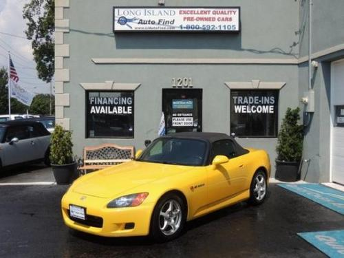 Photo Image Gallery & Touchup Paint: Honda S2000 in Spa Yellow Pearl  (Y52P)  YEARS: 2001-2003