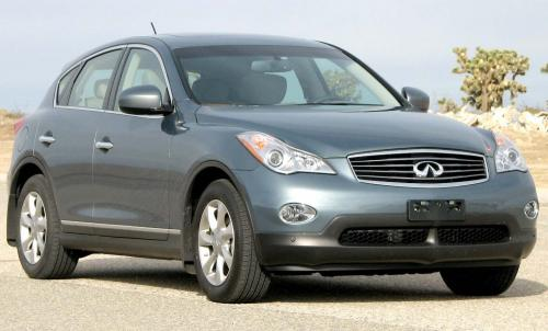 Photo Image Gallery & Touchup Paint: Infiniti EX in Tidewater    (FAA)  YEARS: 2008-2009