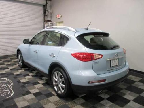 Photo Image Gallery & Touchup Paint: Infiniti EX in Arctic Blue   (FAH)  YEARS: 2011-2011