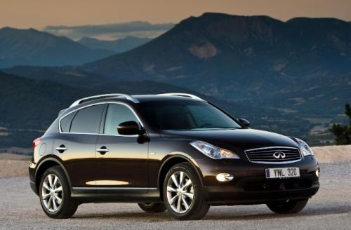 Photo Image Gallery & Touchup Paint: Infiniti EX in Malbec Black   (GAC)  YEARS: 2012-2017