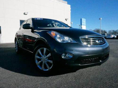 Photo Image Gallery & Touchup Paint: Infiniti EX in Blue Slate   (K52)  YEARS: 2008-2010
