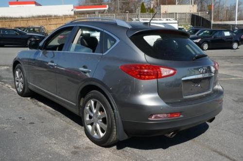 Photo Image Gallery & Touchup Paint: Infiniti EX in Graphite Shadow   (KAD)  YEARS: 2011-2017