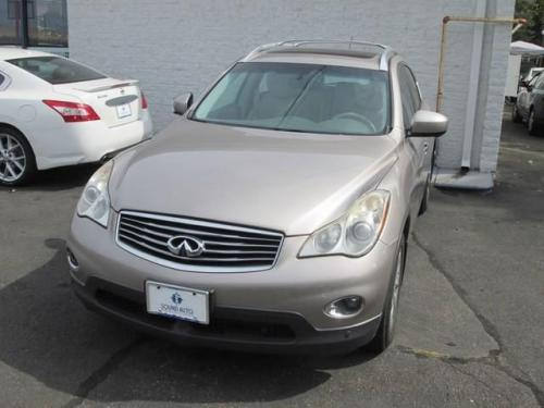 Photo Image Gallery & Touchup Paint: Infiniti EX in Scarlet Silver   (KAG)  YEARS: 2008-2010