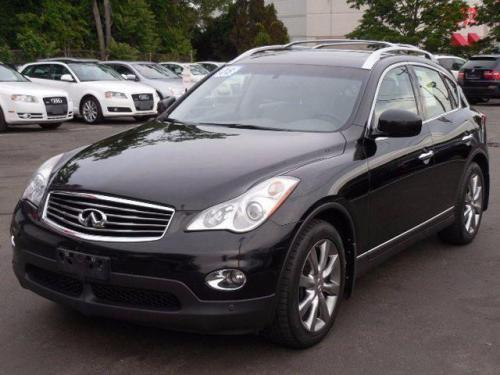 Photo Image Gallery: Infiniti EX in Black Obsidian   (KH3)  YEARS: -