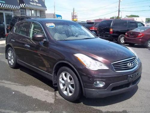 Photo Image Gallery & Touchup Paint: Infiniti EX in Dark Currant   (L50)  YEARS: 2008-2010