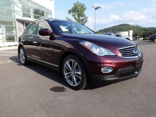 Photo Image Gallery & Touchup Paint: Infiniti EX in Midnight Garnet   (NAB)  YEARS: 2011-2017